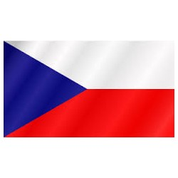 vlajka česka republika 90x150cm