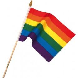 Duhová vlajka 30x45cm