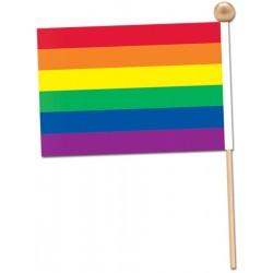 Duhová vlajka 15x23cm