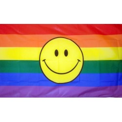 Duhová vlajka smile