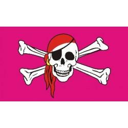 Vlajka růžový pirát