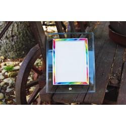 Duhový rámeček na fotku II