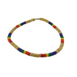 Duhový náhrdelník coco