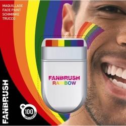 Duhové barvy na obličej - FUNBRUSH